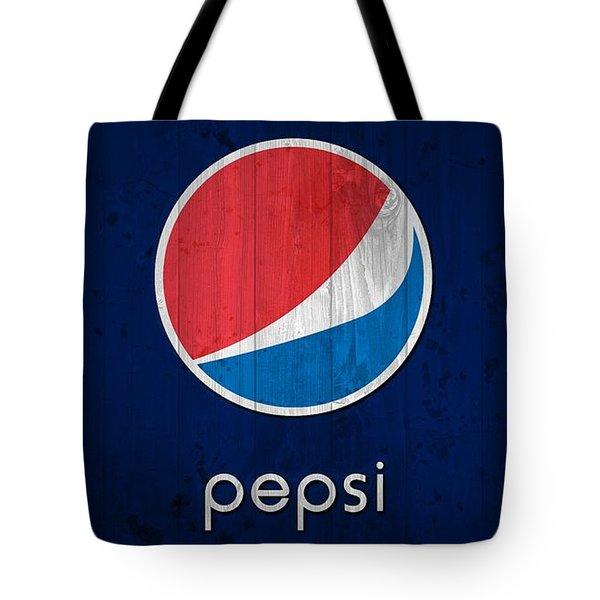 Pepsi Barn Sign Tote Bag by Dan Sproul