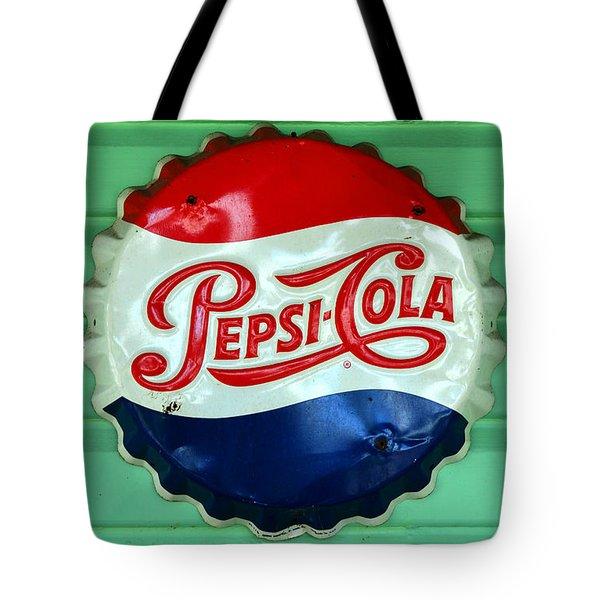 Pepsi Cap Tote Bag by David Lee Thompson