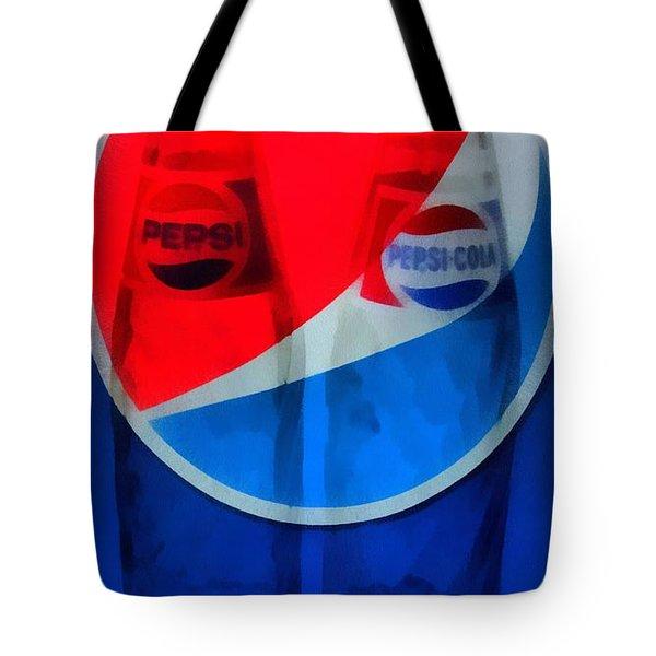 Pepsi Cola Tote Bag by Dan Sproul