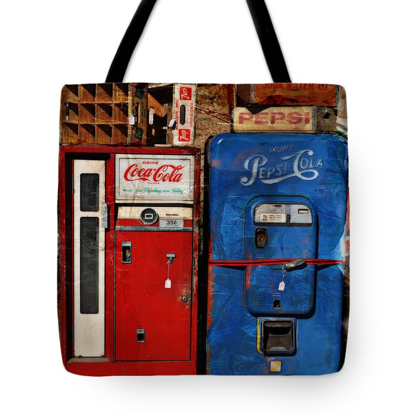 Pepsi Tote Bag by Mary Machare