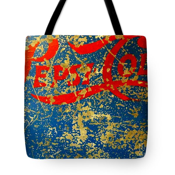 Pepsi Tote Bag by Newel Hunter
