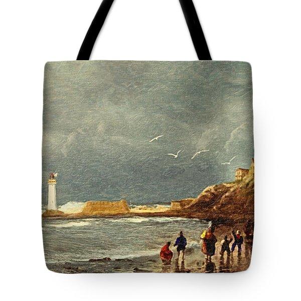 Perch Rock - New Brighton 1829 Tote Bag