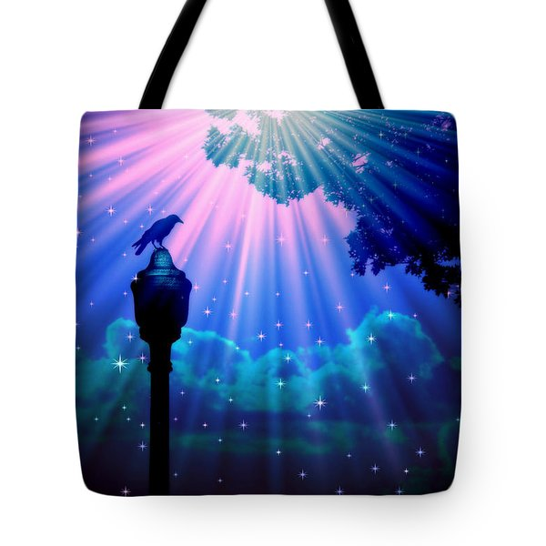 Perched And Watching 7 Tote Bag by Aurelio Zucco