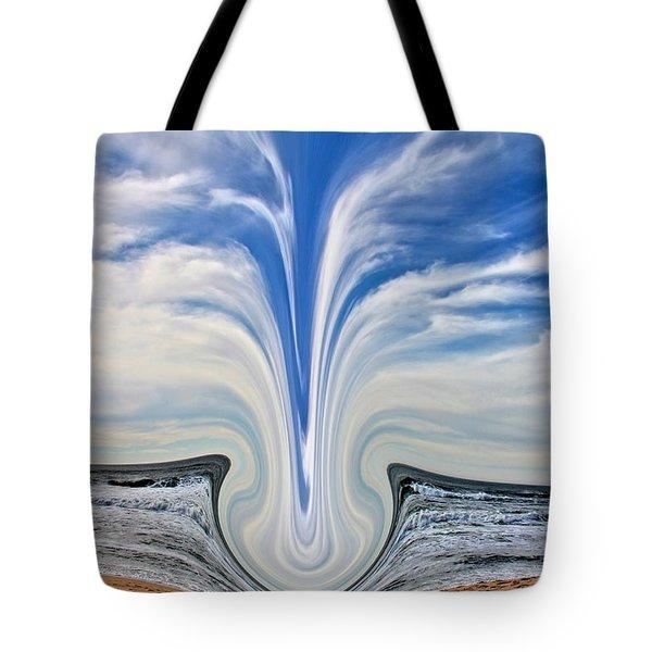 Percussion Tote Bag by Nick David