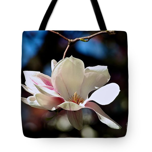 Perfect Bloom Magnolia Tote Bag