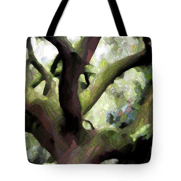 Perfect Climbing Tree  Tote Bag by Carol Groenen