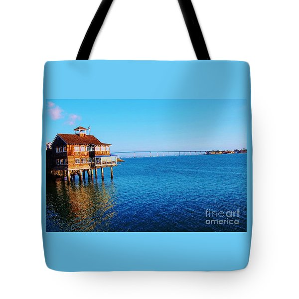 Tote Bag featuring the photograph Perfect Day In San Diego by Jasna Gopic