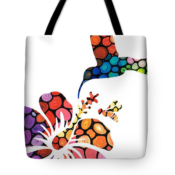 Perfect Harmony - Nature's Sharing Art Tote Bag
