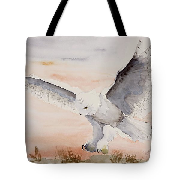 Perfect Landing Tote Bag by Joette Snyder