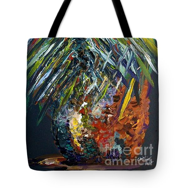 Perfect Pineapple Tote Bag by Eloise Schneider