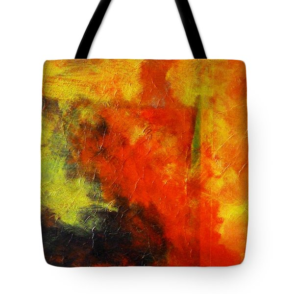 Perfect Storm Tote Bag by Nancy Merkle