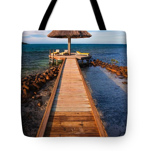 Perfect Vacation Tote Bag by Adam Romanowicz