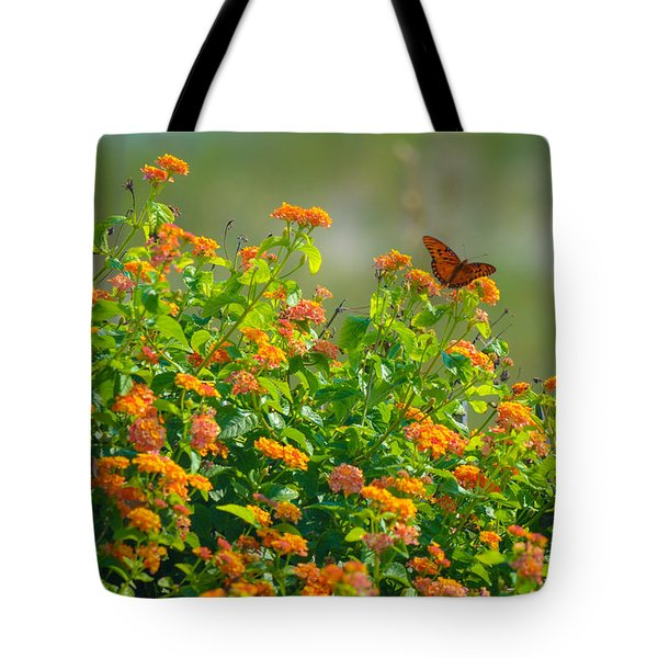 Perfectly Poised  Tote Bag by Mary Ward