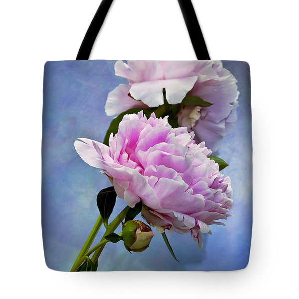 Perfume And Powdery Pastels Tote Bag by Theresa Tahara