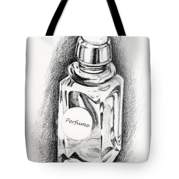 Perfume Bottle Tote Bag