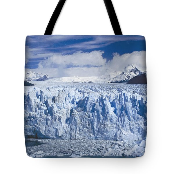 Perito Moreno Glacier Argentina Tote Bag by Rudi Prott
