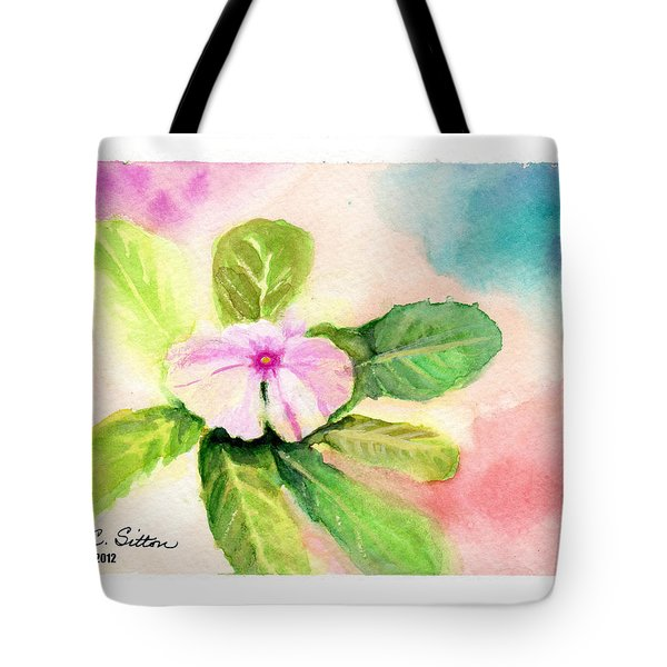 Periwinkle Tote Bag by C Sitton