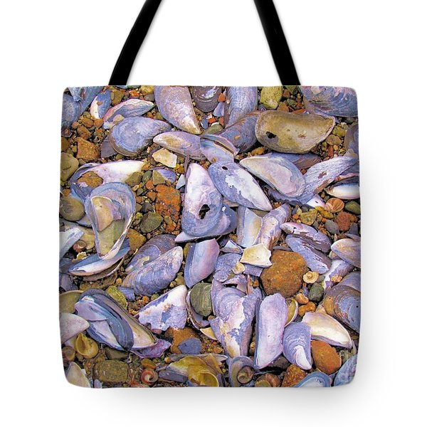Periwinkles Muscles And Clams Tote Bag