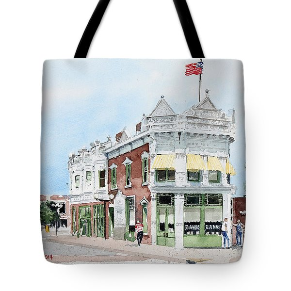 Perkins Building Tote Bag