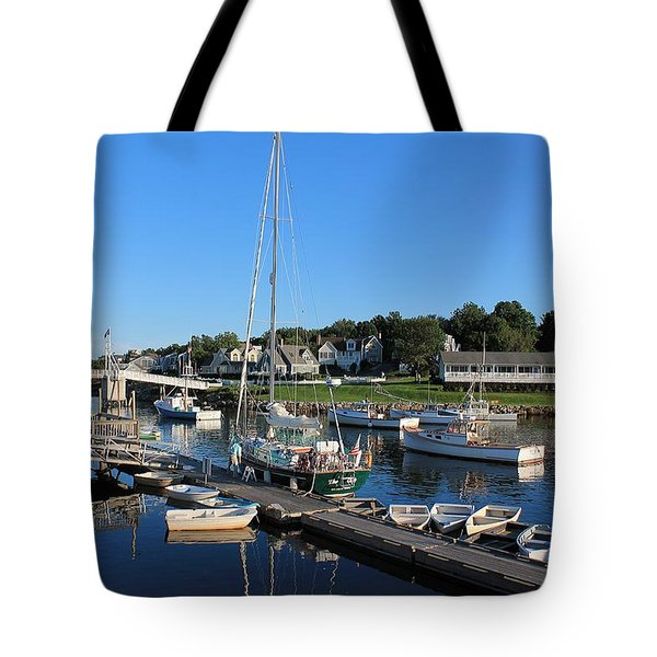 Perkins Cove Ogunquit Maine 2 Tote Bag