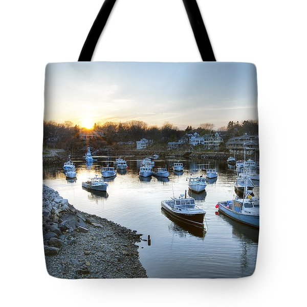 Perkins Cove Tote Bag by Eric Gendron