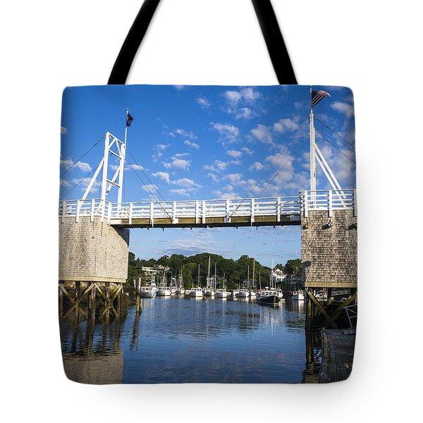 Perkins Cove - Maine Tote Bag by Steven Ralser