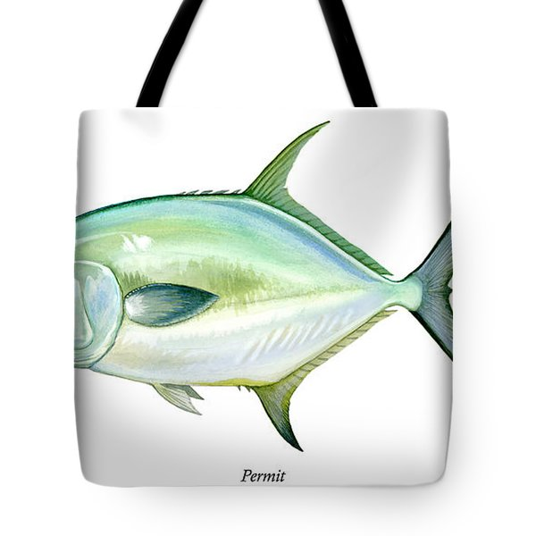 Permit Tote Bag by Charles Harden