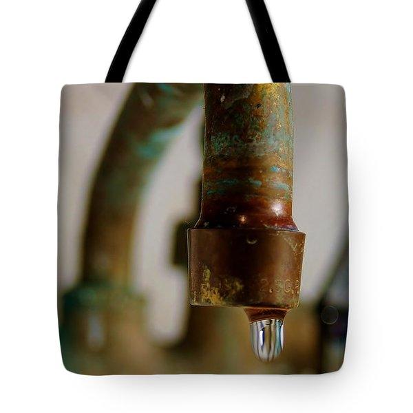 Perpetual Drip Tote Bag