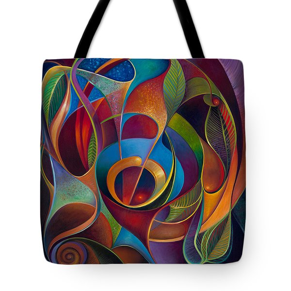 Perplexity Tote Bag by Claudia Goodell