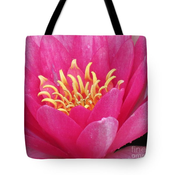 Perry's Fire Opal Water Lily Tote Bag
