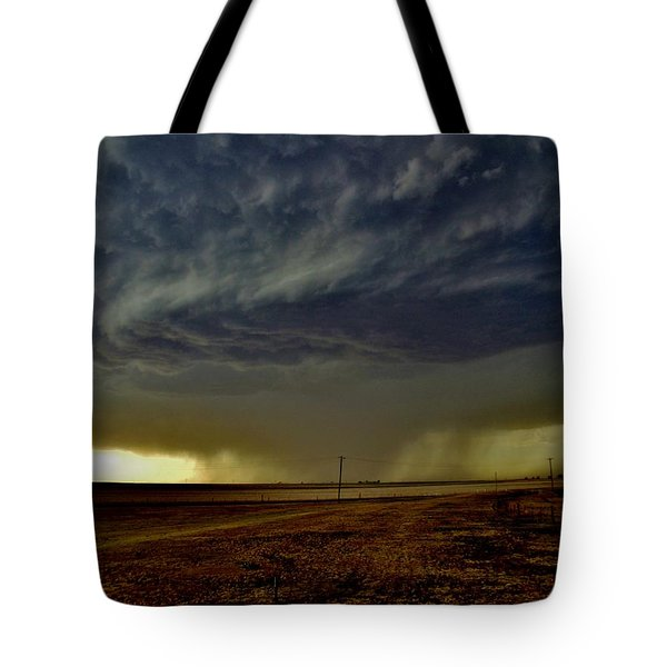 Perryton Supercell Tote Bag by Ed Sweeney