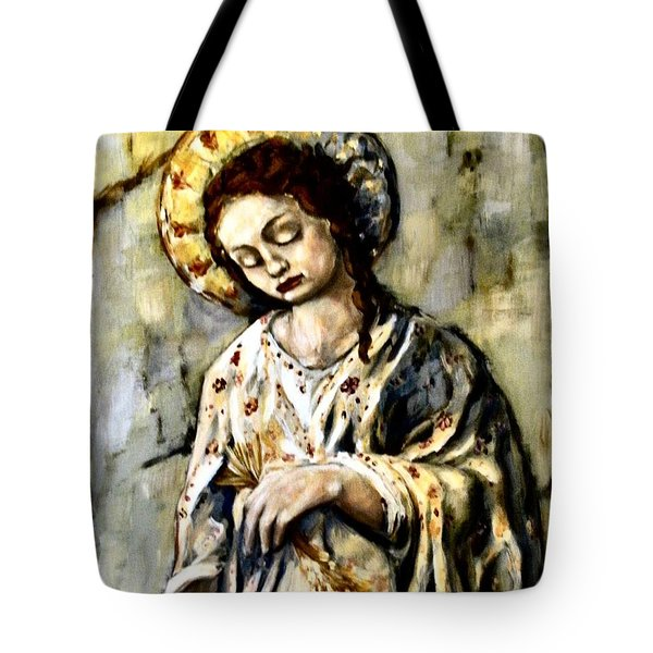 Persephone Tote Bag by Carrie Joy Byrnes