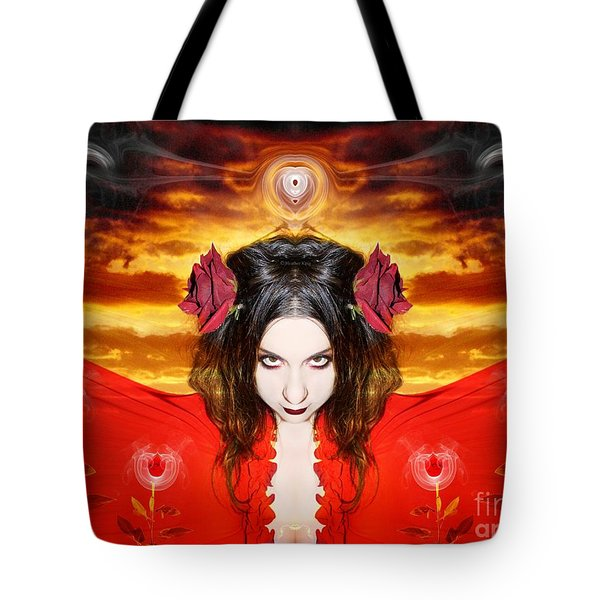 Tote Bag featuring the photograph Persephone Do I Invoke by Heather King
