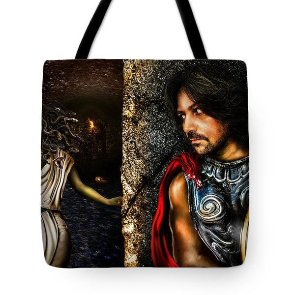 Perseus And Medusa Tote Bag