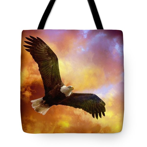 Perseverance Tote Bag by Lois Bryan