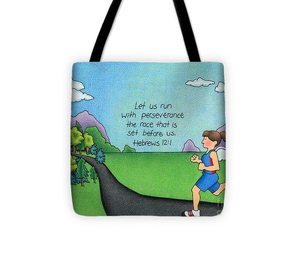 Perseverance Tote Bag by Sarah Batalka