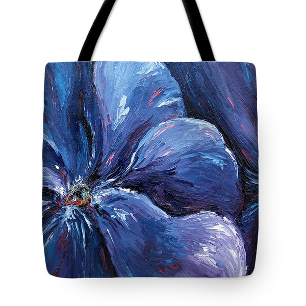 Tote Bag featuring the painting Persevering Hope by Meaghan Troup