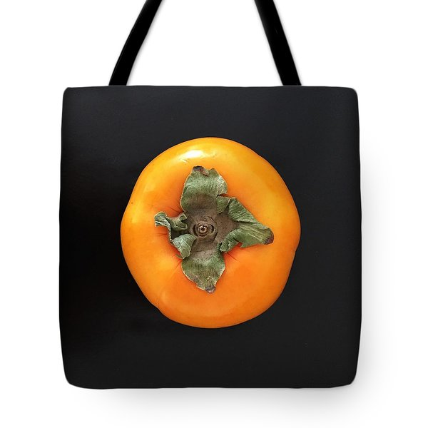 Persimmon Tote Bag by Julie Gebhardt