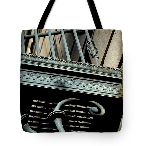 Tote Bag featuring the photograph Perspective by Christiane Hellner-OBrien
