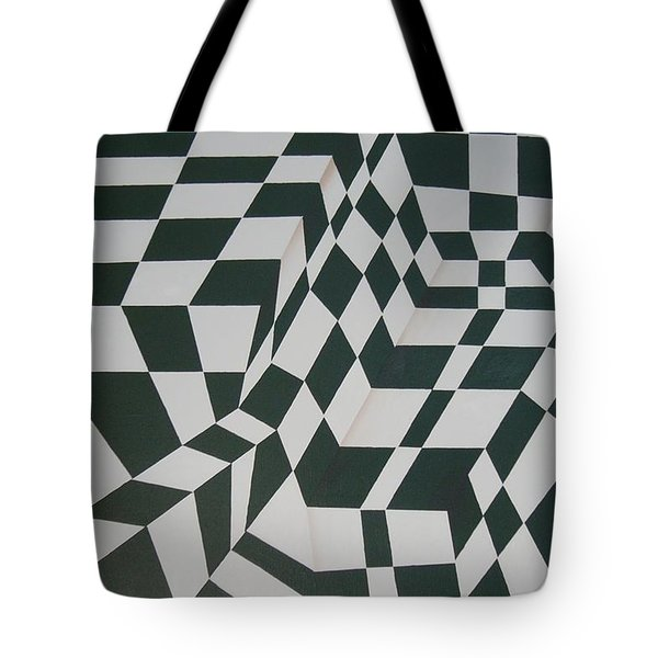 Perspective Confusion Tote Bag by Leana De Villiers
