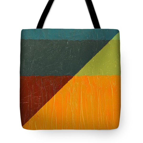 Perspective In Color Collage 4 Tote Bag