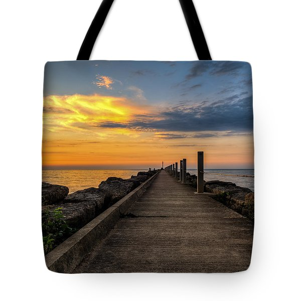 Perspective Light Tote Bag