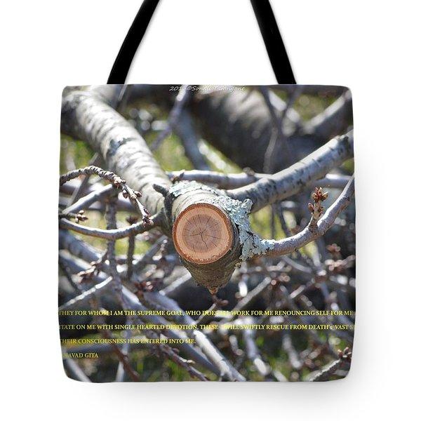 Perspective Tote Bag by Sonali Gangane