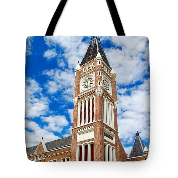 Perth Town Hall Tote Bag