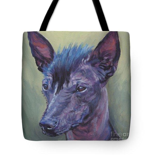 Peruvian Hairless Dog Tote Bag