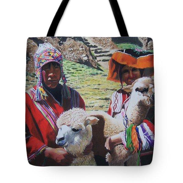 Peruvians Tote Bag