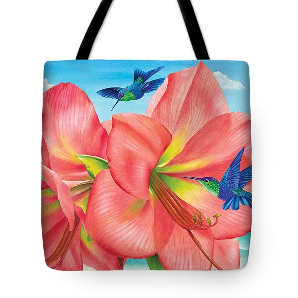 Petal Passion Tote Bag by Carolyn Steele