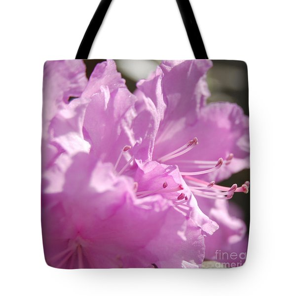Petal Pink By Jrr Tote Bag by First Star Art