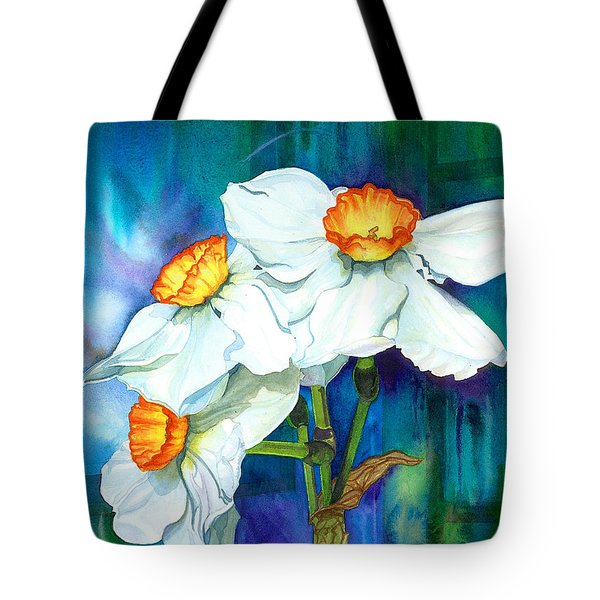Petal Portrait Tote Bag