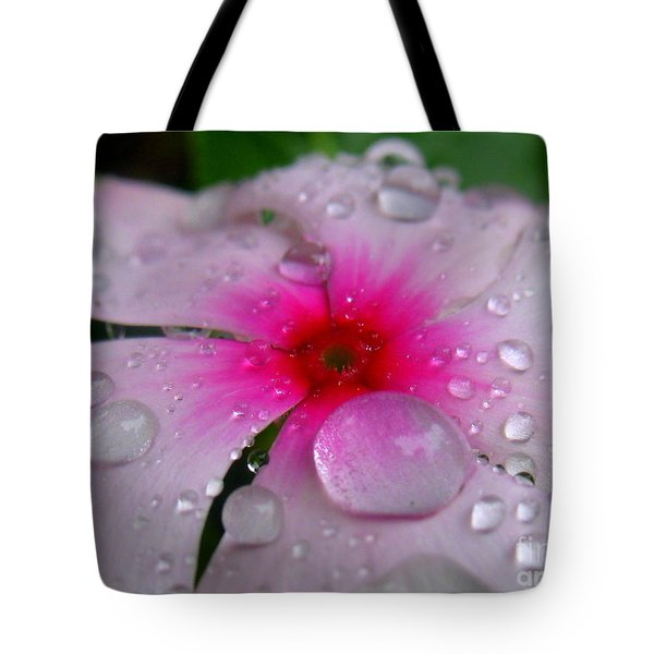 Petal Surfing Tote Bag by Patti Whitten